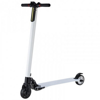 Электросамокат Jack Hot Carbon The Lightest Electric Scooter (8800 мАч), White