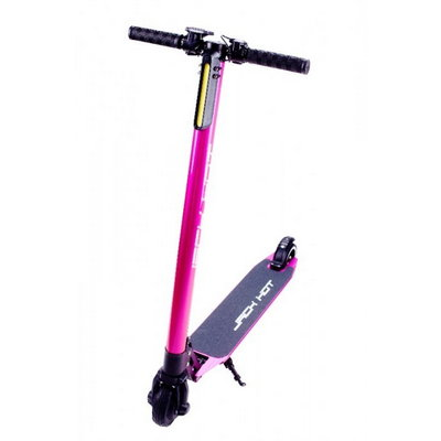Электросамокат Jack Hot Carbon The Lightest Electric Scooter (8800 матч), Pink