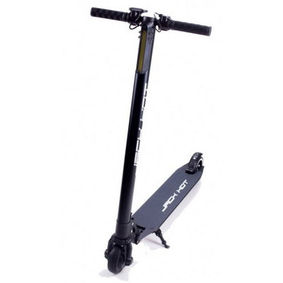 Электросамокат Jack Hot Carbon The Lightest Electric Scooter (10400 мАч), Black