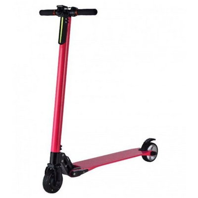 Электросамокат Jack Hot Carbon The Lightest Electric Scooter (10400 матч), Red