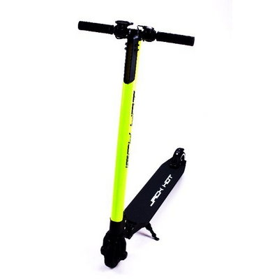 Электросамокат Jack Hot Carbon The Lightest Electric Scooter (10400 матч), Green